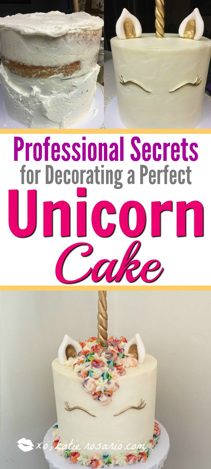 How to make a magical unicorn cake easy step by step guide. How to Make a Magical Unicorn Cake: I love unicorn cakes! Omg! There is so much you can do with them! Like all the different colors in the hair! Love it! I cant believe its a cake! Must try for sure! Saving for later!