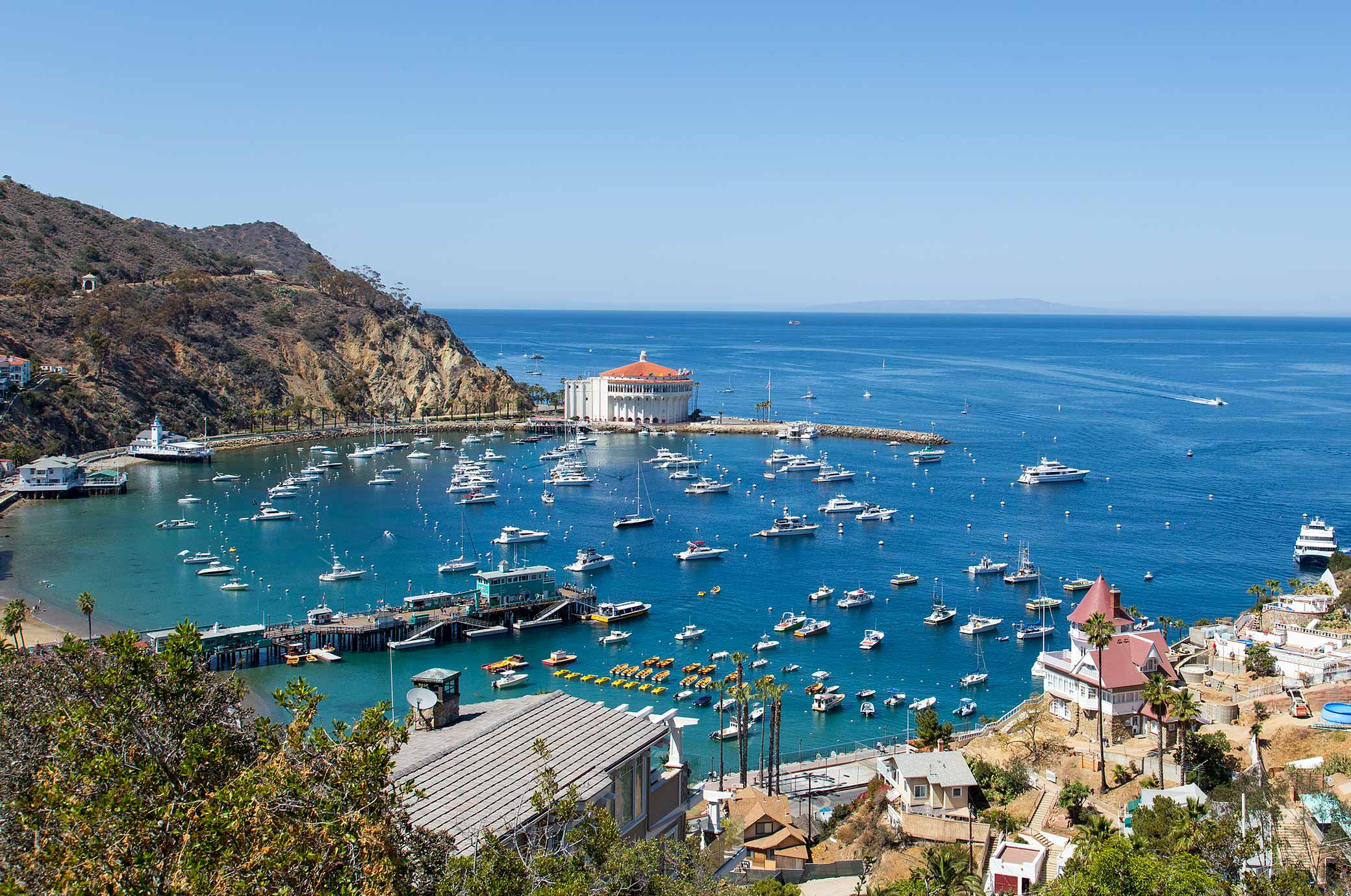 santa catalina island in los angeles california, 7 stunning vacations to take without a passport