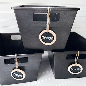diy under $10 chalkboard storage bedroom decor. I just moved and I needed to update my old bedroom decorations. So by searching Pinterest I saw these great ideas! I love decorating so this is very exciting for me! I don't have a lot of money to spend on new décor so I made my own DIY bedroom décor! Decorate for less with these dollar store DIY bedroom projects. These ideas can be made for under $10 or at the dollar store!
