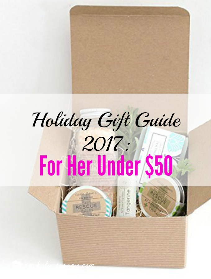 I love this guide! OMG! its so perfect for this holiday shopping season! I think most girls would love something from this post! The gift guide for her is perfect since everything is under $50. It certainly is going to make online shopping so much easier! Saving it for later!