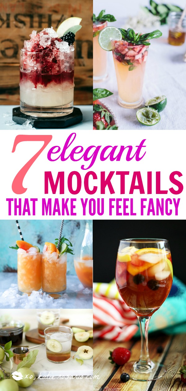 Mocktails Non-Alcoholic Drinks