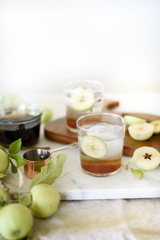 Apple Spice LaCroix | Mocktails Non-Alcoholic Drinks