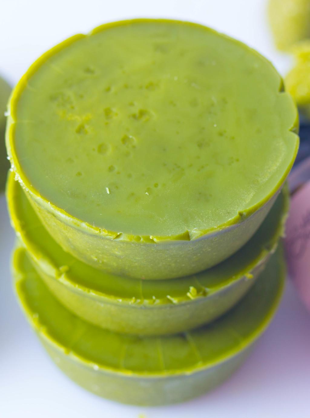Green Tea Body Scrub Soap | Homemade Soap Recipes @ xokatierosario.com