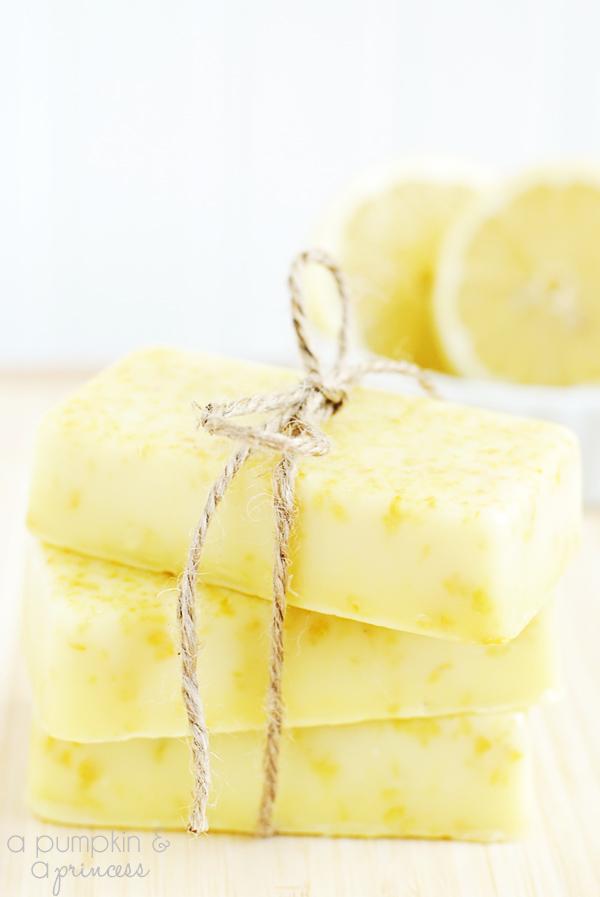 Homemade Lemon Soap | Homemade Soap Recipes @ xokatierosario.com