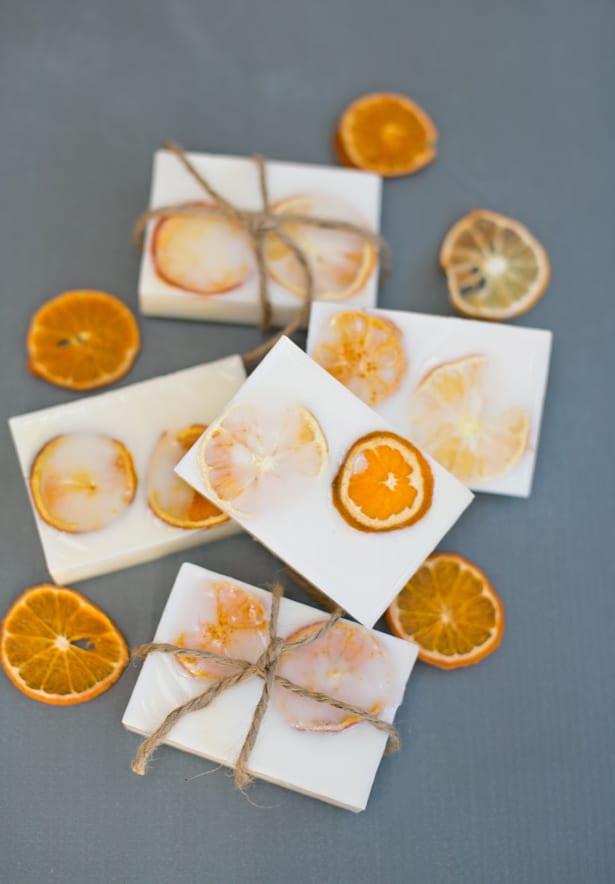 DIY Handmade Goat's Milk Citrus Soap | Homemade Soap Recipes @ xokatierosario.com