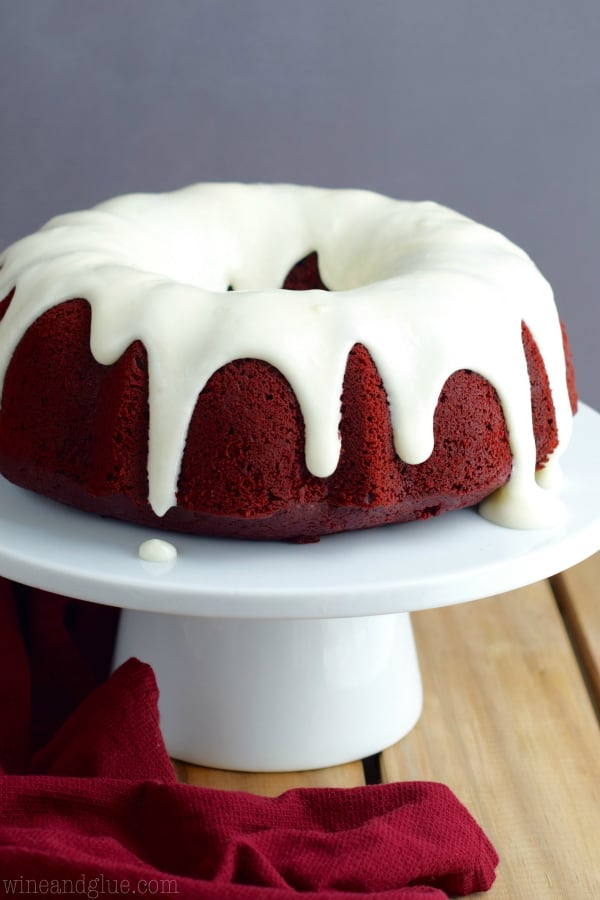 Red Velvet Sour Cream Bundt Cake   Bundt cakes are simple cakes that are perfect for any beginner baker. They come out beautiful every time. The bundt cake pan was originally designed for a thick, dense cake batter like a pound cake. These bundt cakes are foolproof recipes that are super impressive and taste delicious! So let's get started, here are 18 Bundt Cake Recipes That Anyone Can Make! #xokatierosario #easybundtcakerecipes #bundtcakesrecipes #bundtcakesdecorations