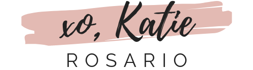 XO, Katie Rosario logo