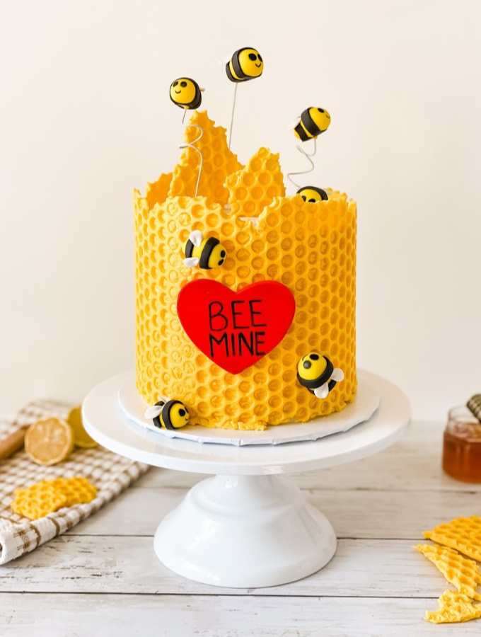 Easy Honey Bee Mine Cake Tutorial That's Super Impressive