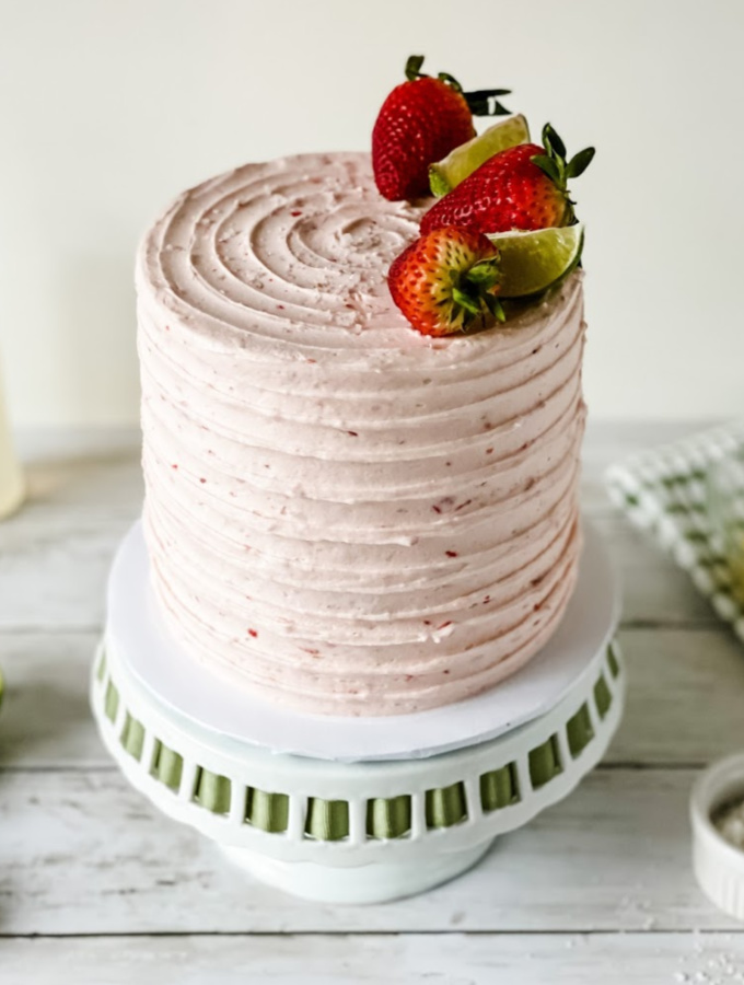 Strawberry Margarita Cake Recipe for Cinco de Mayo