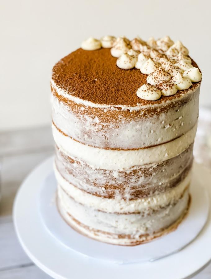 Simple Tiramisu Cake with a Modern Twist