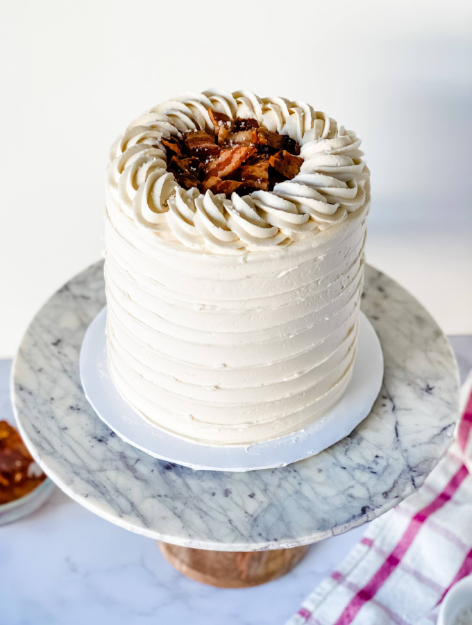 Maple Bacon Cake Perfect for Breakfast Lovers
